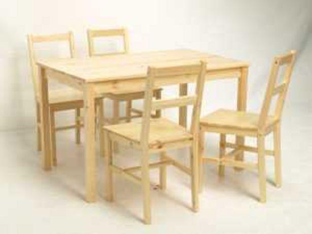 Oferta de Set mesa+4 sillas MK-JT-N2 por 99€