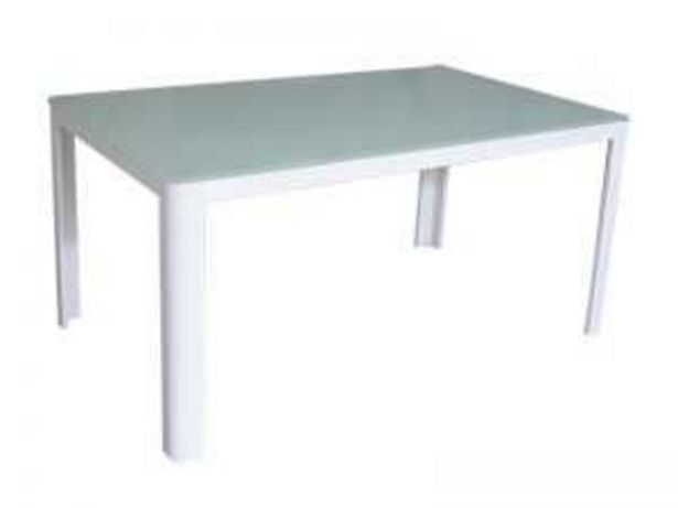 Oferta de Mesa mod. DT168 aluminio blanco por 189€