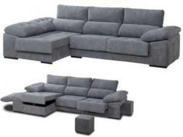 Oferta de Sofa chaisselongue mod. DUNA visto de frente izquierda T/Brisa por 599€