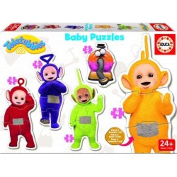 Oferta de  Baby Puzzles Teletubbies educa (17014)  por 4,99€