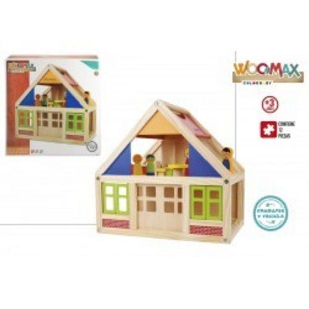Oferta de  Casa muñecas madera colorbaby (46477)  por 34,99€