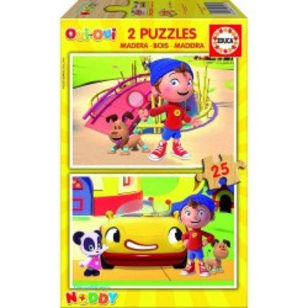 Oferta de  Puzzle madera Noddy - 2x25 educa (17161)  por 3,99€