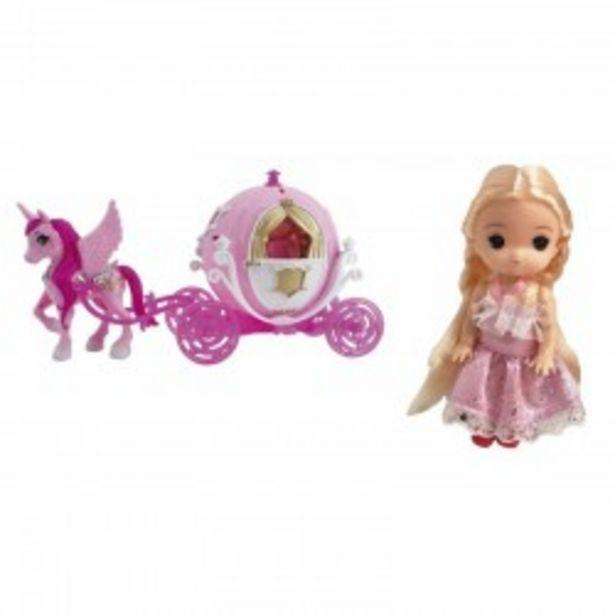 Oferta de  Princesa del bosque + Carroza josbertoys...  por 8,99€