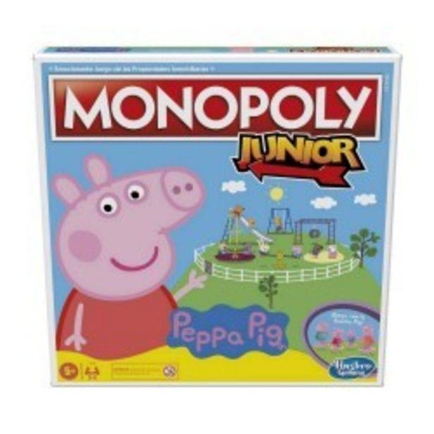 Oferta de  Monopoly Junior Peppa Pig hasbro (F16561051)  por 21,99€