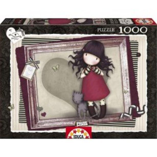 Oferta de  Puzzle love Gorjuss 1000 pcs educa (15997)  por 7,99€