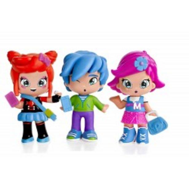 Oferta de  Piny pack 3 figuras - Michelle, Rita y Sam  por 13,5€