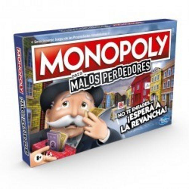 Oferta de  Monopoly malos perdedores hasbro (E99721050)  por 24,99€