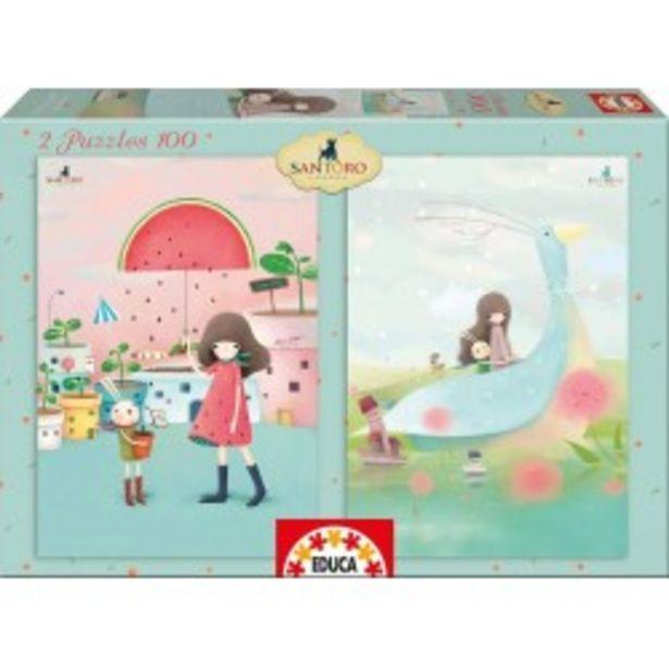 Oferta de  Puzzle Melon Shower + House Boats Kori...  por 5,99€