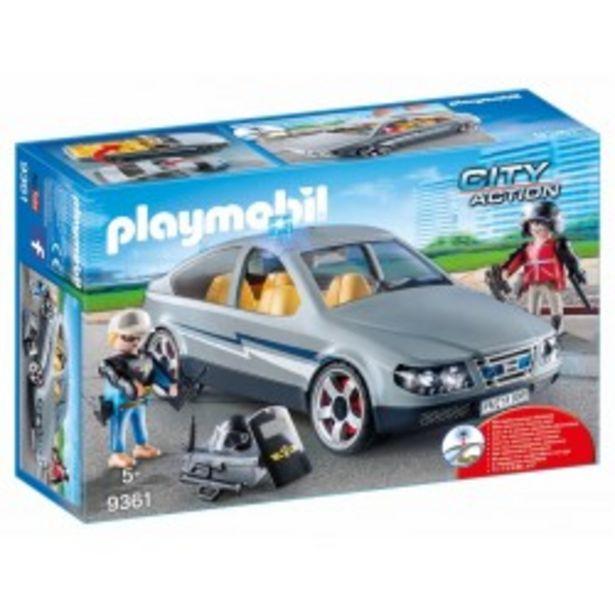 Oferta de  Playmobil Coche Civil de las Fuerzas...  por 29,75€