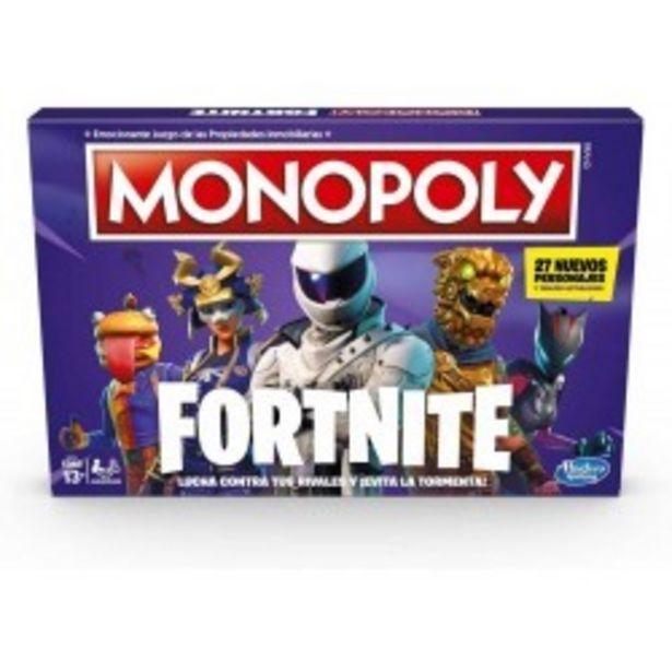 Oferta de  Monopoly Fortnite hasbro (E6603546)  por 22,75€