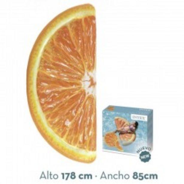 Oferta de  Colchoneta hinchable Naranja intex (58763)  por 7,99€