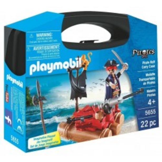 Oferta de  Playmobil maletín pirata  por 11,99€