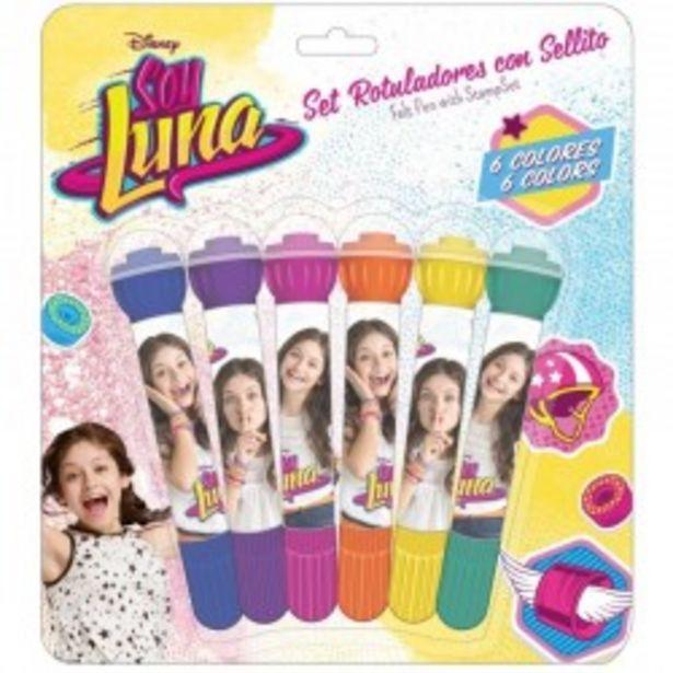 Oferta de  Set 6 rotuladores Soy Luna (safta)  por 4,99€