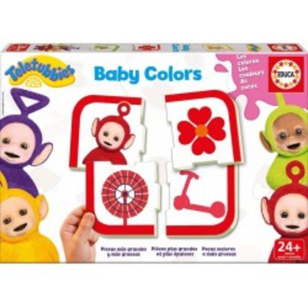Oferta de  Baby Colors Teletubbies educa (17059)  por 4,99€