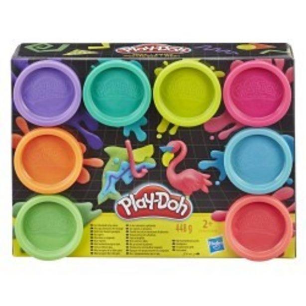 Oferta de  Play-Doh pack 8 botes surtido hasbro...  por 6,99€