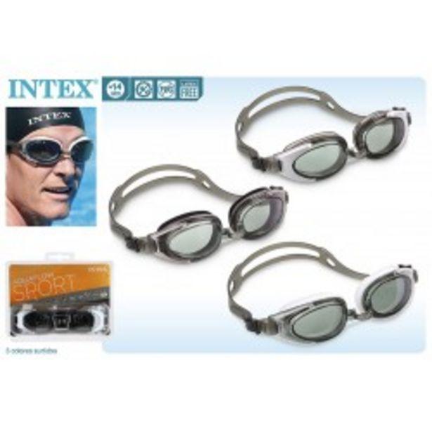 Oferta de  Gafas natación policarbonato intex (55685)  por 2,99€