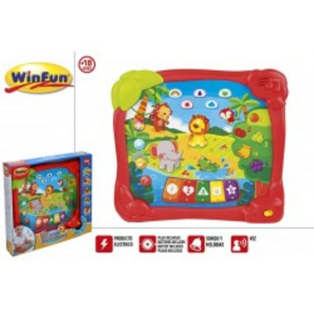 Oferta de  tablet educativa jungla winfun (44753)  por 11,99€