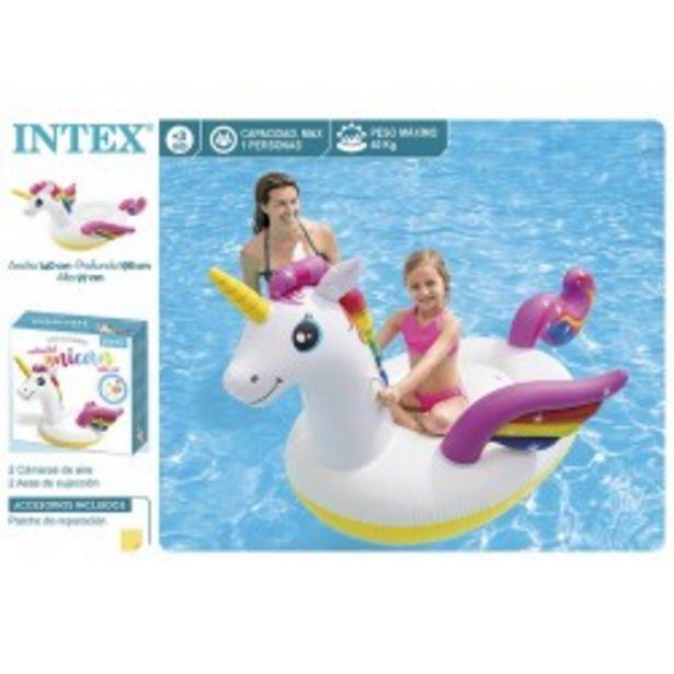 Oferta de  Unicornio figura 198x140x97cm intex (57561)  por 13,99€