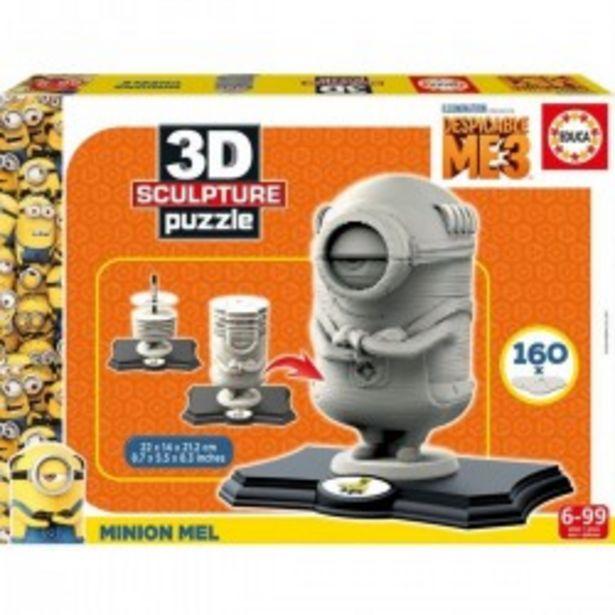 Oferta de  Puzzle 3D Escultura Minion  por 11,99€