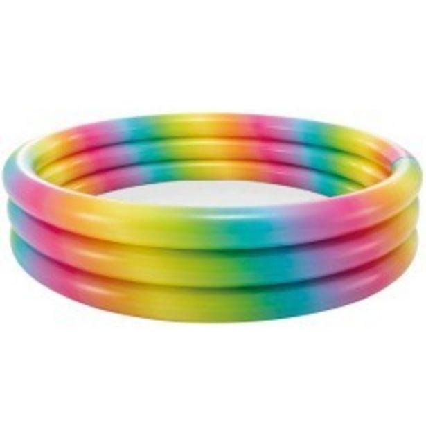 Oferta de  Piscina tres aros multicolor 168x38 cm...  por 15,99€