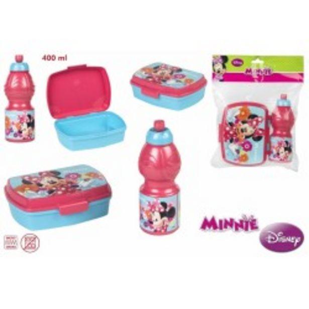 Oferta de  Minnie sanwichera botella 400ml  por 4,99€