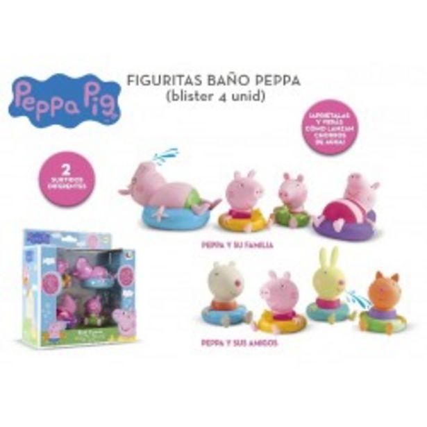 Oferta de  Peppa pig figuras baño imc (360037)  por 17,99€