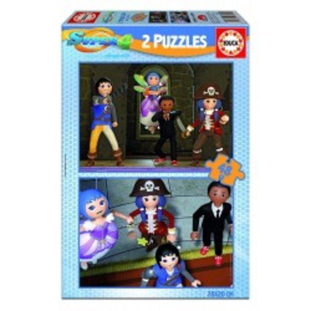 Oferta de  Puzzle Super 4 - 2x48 educa (17279)  por 3,99€