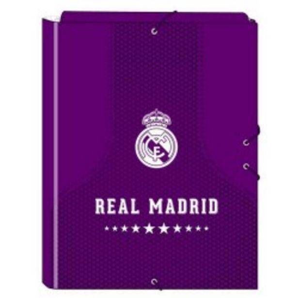 Oferta de  Carpeta folio 3 solapas Real Madrid (safta)  por 4,99€