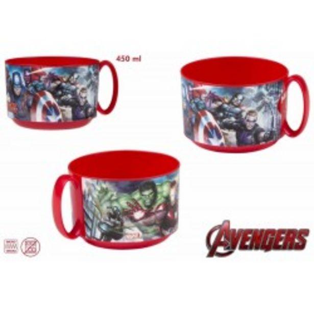 Oferta de  Taza microondas 450ml - Avengers  por 1,99€