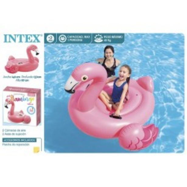 Oferta de  Flamingo ride on 142x137x97cm intex (57558)  por 13,99€