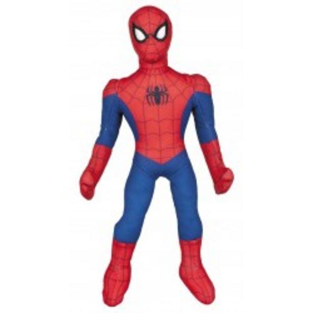 Oferta de  Spiderman lanza telarañas pie 30cm  por 5,99€