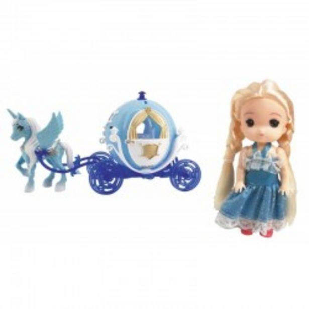 Oferta de  Princesa de hielo + Carroza josbertoys (536)  por 8,99€