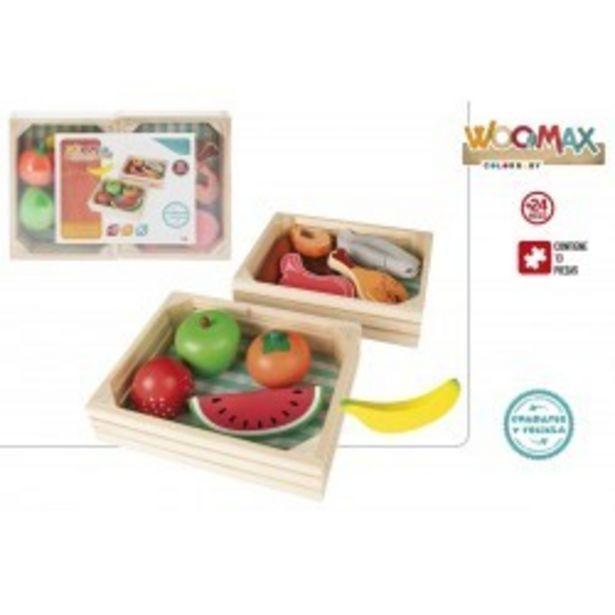 Oferta de  Cajas madera comidas colorbaby (46471)  por 11,99€