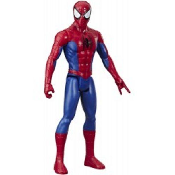 Oferta de  Figura Titan Hero Spiderman hasbro (E73335L0)  por 14,99€