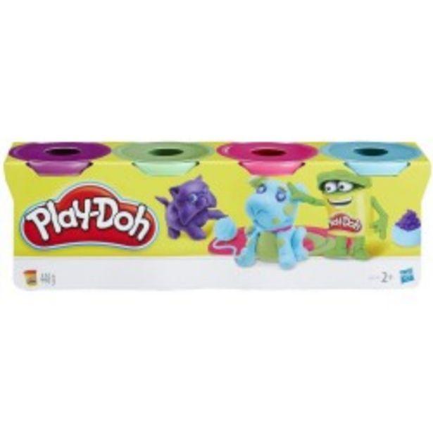 Oferta de  Play-Doh pack 4 botes surtido hasbro...  por 4,99€