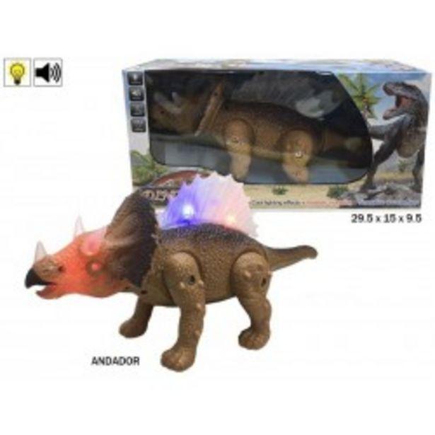 Oferta de  Triceratops camina luz y sonido rama (39634)  por 5,99€