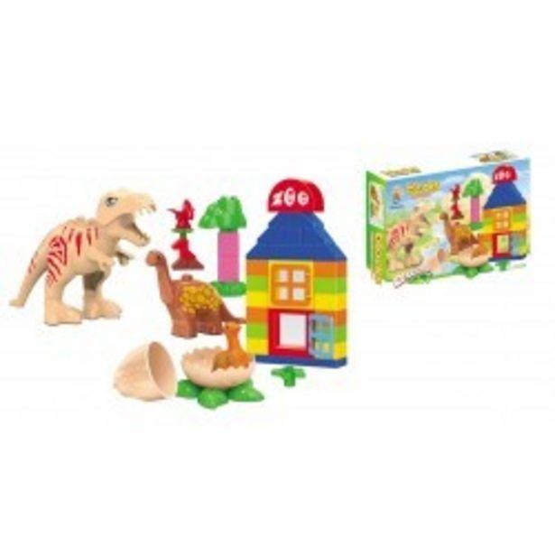 Oferta de  Caja bloques dinosaurios josbertoys (395)  por 11,99€