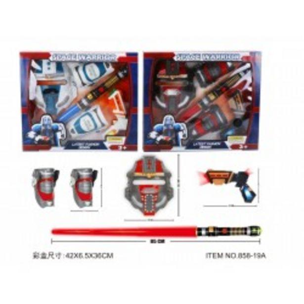 Oferta de  Set accesorios espacio  por 11,99€