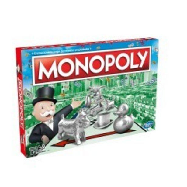Oferta de  Monopoly Clásico hasbro (C1009105)  por 25€