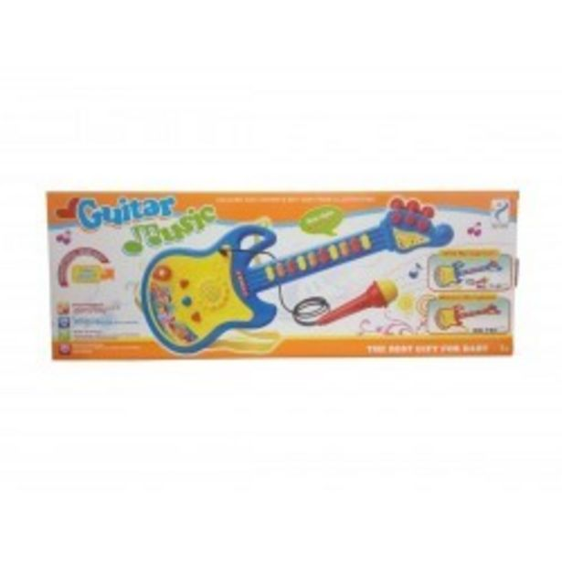 Oferta de  Guitarra 45 cm con micro rama (63899)  por 5,99€