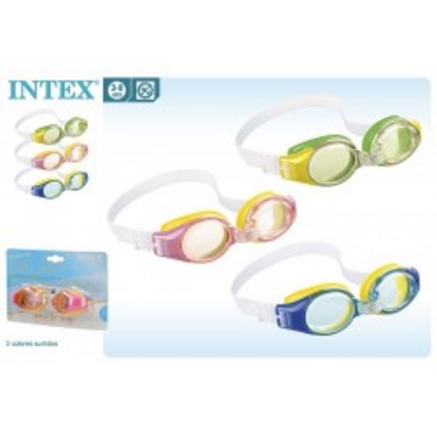 Oferta de  Gafas natación junior intex (55601)  por 1,55€