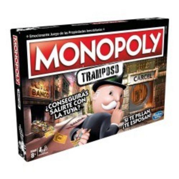 Oferta de  Monopoly Tramposo hasbro (E18711050)  por 24,99€