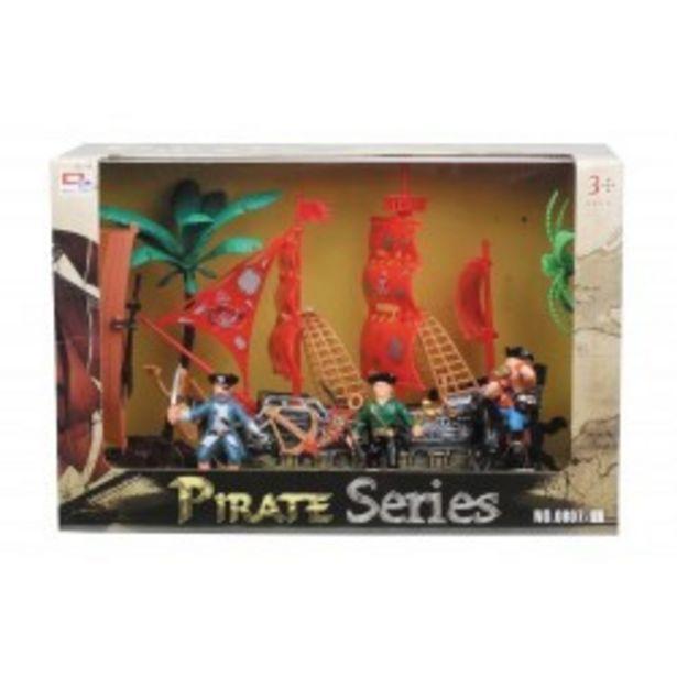 Oferta de  Barco pirata con luz y accesorios...  por 12,99€