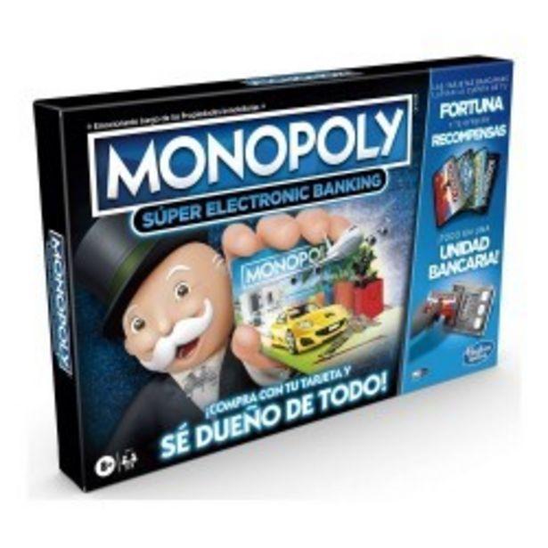 Oferta de  Monopoly Super Electronic Banking hasbro...  por 34,99€