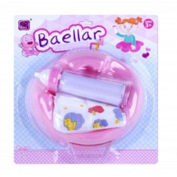 Oferta de  Set accesorios bebé josbertoys (524)  por 3,99€