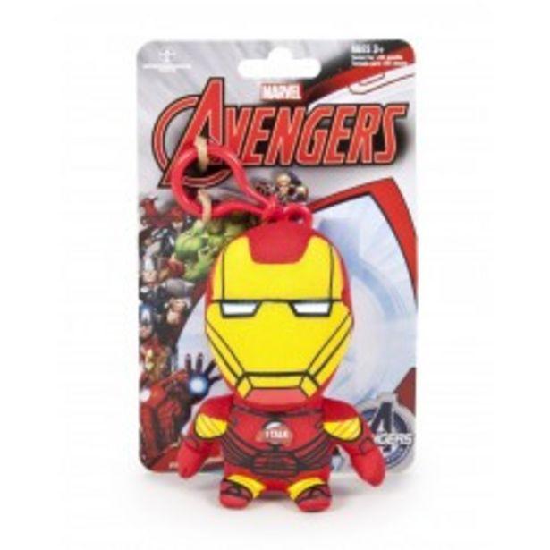 Oferta de  Peluche/llavero Marvel 11cm sonidos - Ironman  por 7,99€