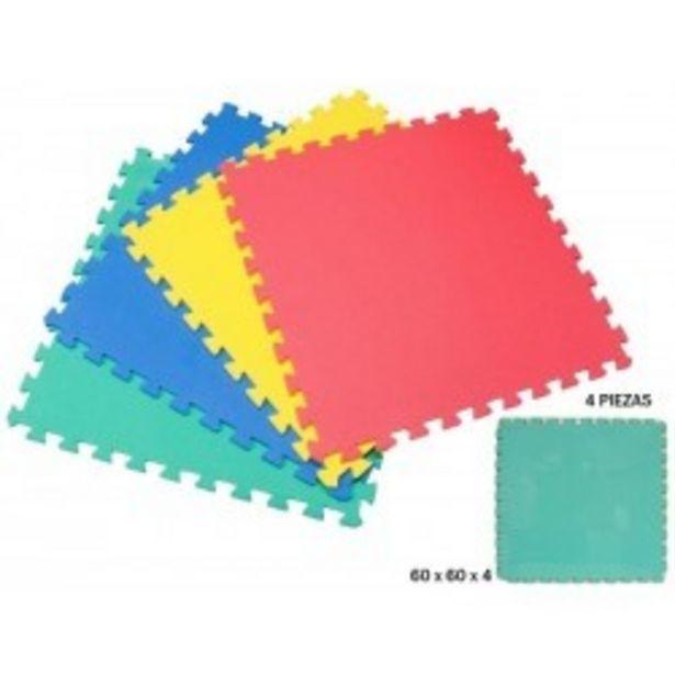 Oferta de  Puzzle eva 4 piezas 60x60 rama (79029)  por 12,99€