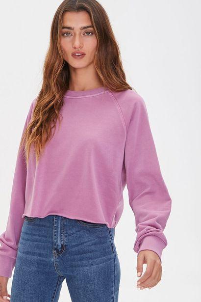 Oferta de Boxy Raglan Sweatshirt por 14€