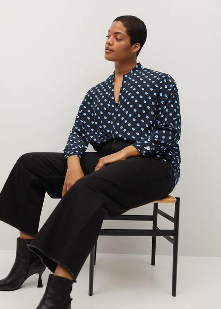 Oferta de Blusa cuello pico por 19,99€