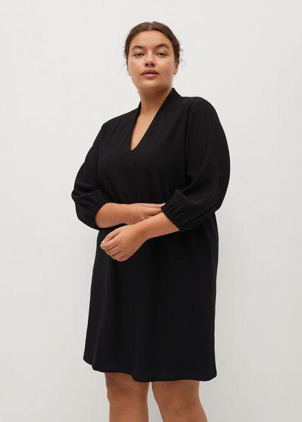 Oferta de Vestido corto escote pico por 15,99€